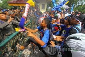 demo jokowi di pekanbaru