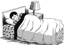 tidur karikatur