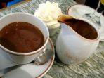 coklat panas