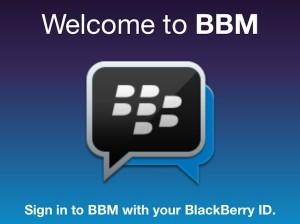wah! Chatting Via BBM Bisa Tanpa Pin