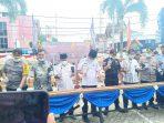 Bupati Inhil Apresiasi Pemusnahan Dan Penyerahan Barang Hibah Oleh Bea Cukai Tembilahan